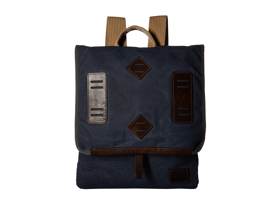 Will Leather Goods - Burnt Lake Canoe (Navy) Handbags