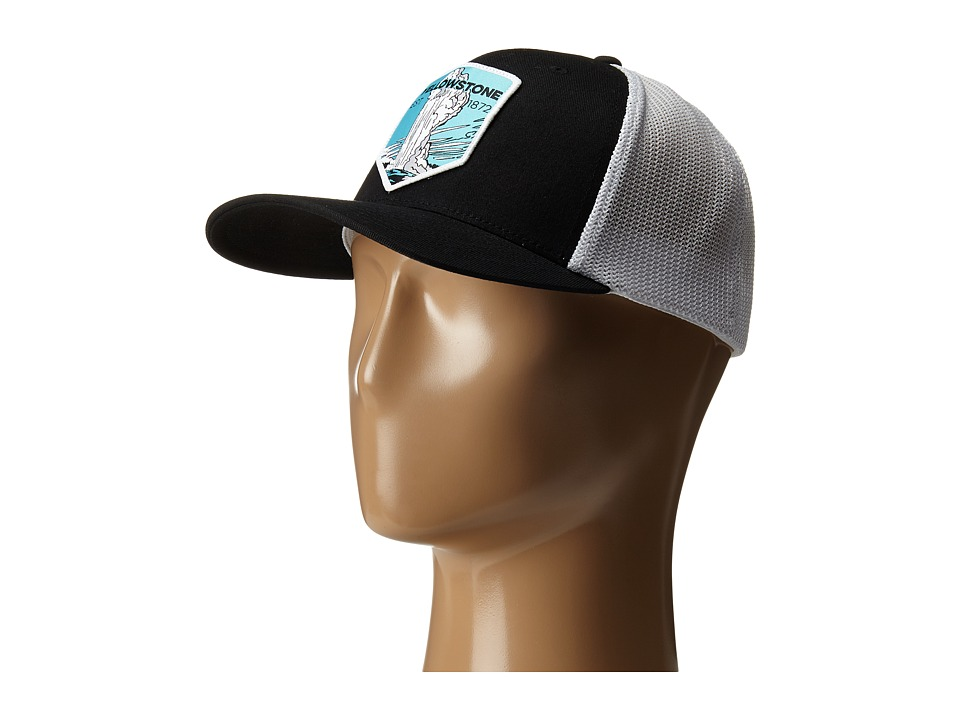 Columbia - National Parks Mesh Hat (Black/Yellowstone) Caps