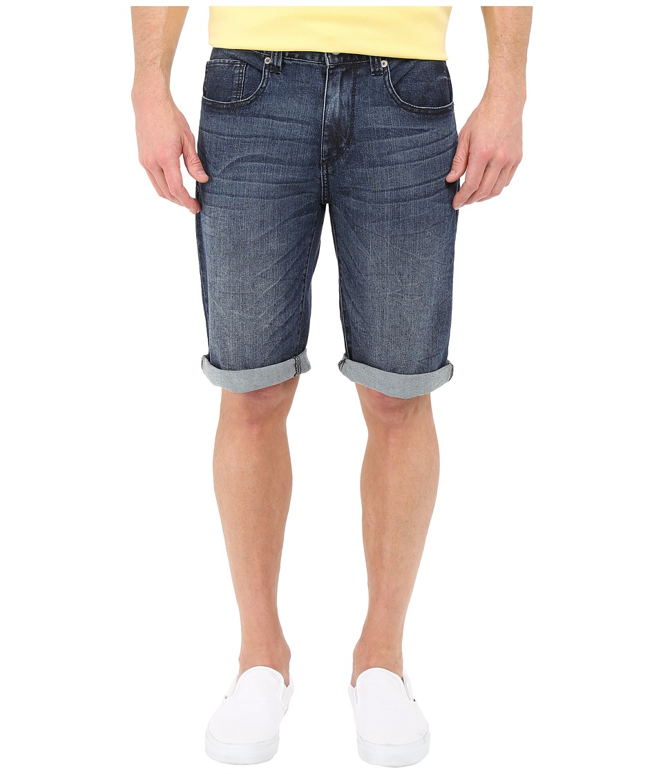 UNIONBAY - Wilder Denim Stretch 5-Pocket Shorts in Blue Rinse (Blue Rinse) Men's Jeans