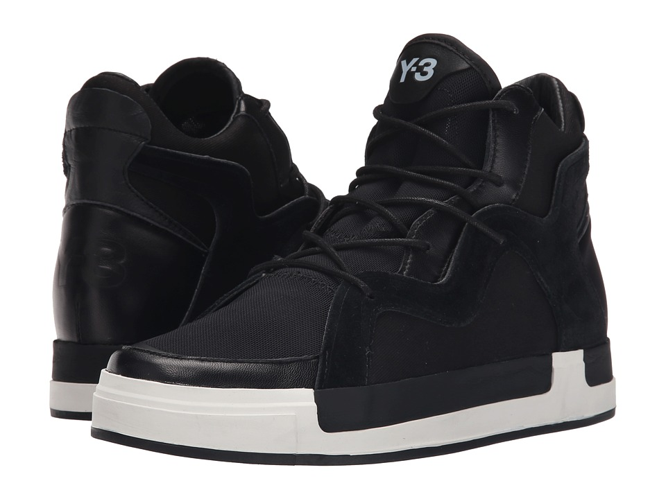 adidas Y-3 by Yohji Yamamoto - Riyal III (Core Black/Core Black/White) Women's Shoes