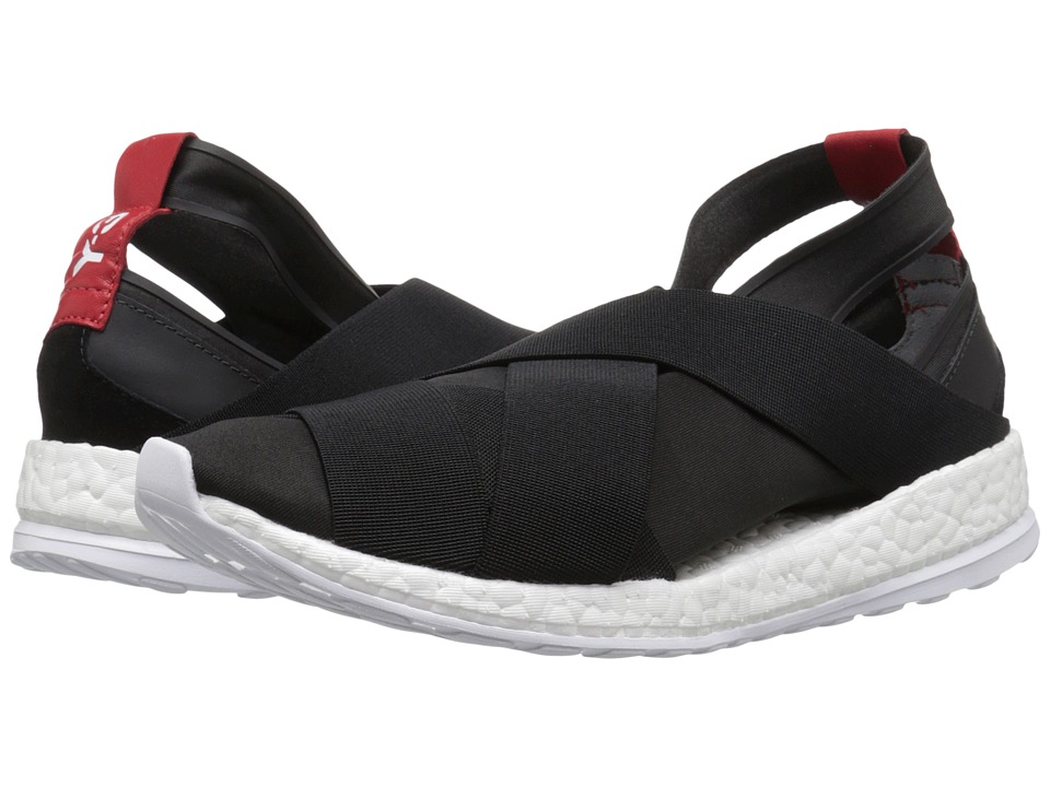adidas Y-3 by Yohji Yamamoto - Dansu Boost (Core Black/White/Scarlet) Women's Shoes
