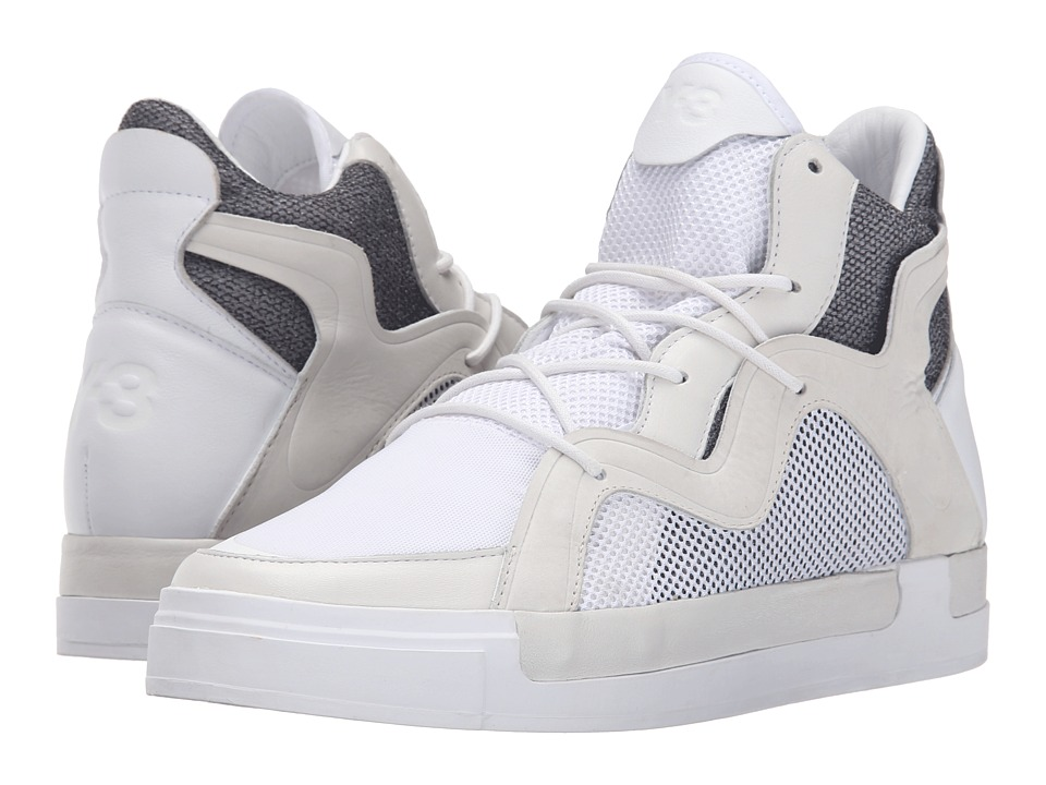 adidas Y-3 by Yohji Yamamoto - Riyal III (White/White/White) Women's Shoes