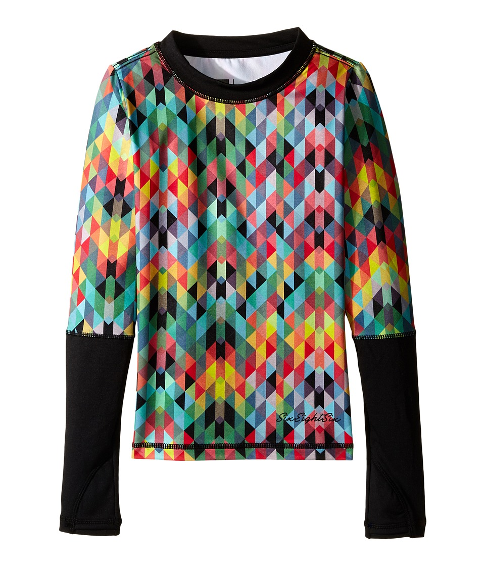 686 Kids - Serenity Base Layer Top (Big Kids) (Kaleidoscope) Girl's Clothing