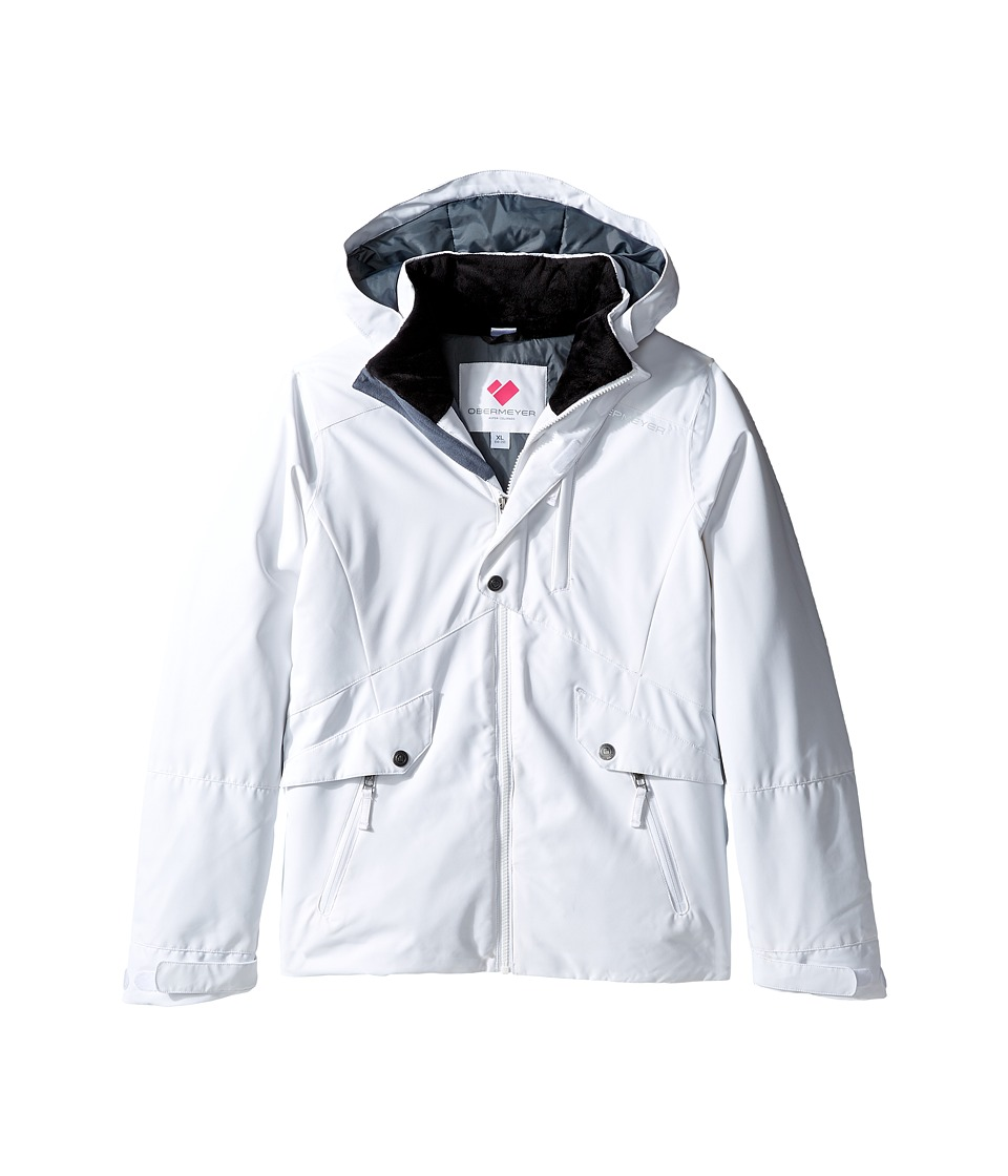 Obermeyer Kids - Kenzie Jacket (Little Kids/Big Kids) (White) Girl's Coat