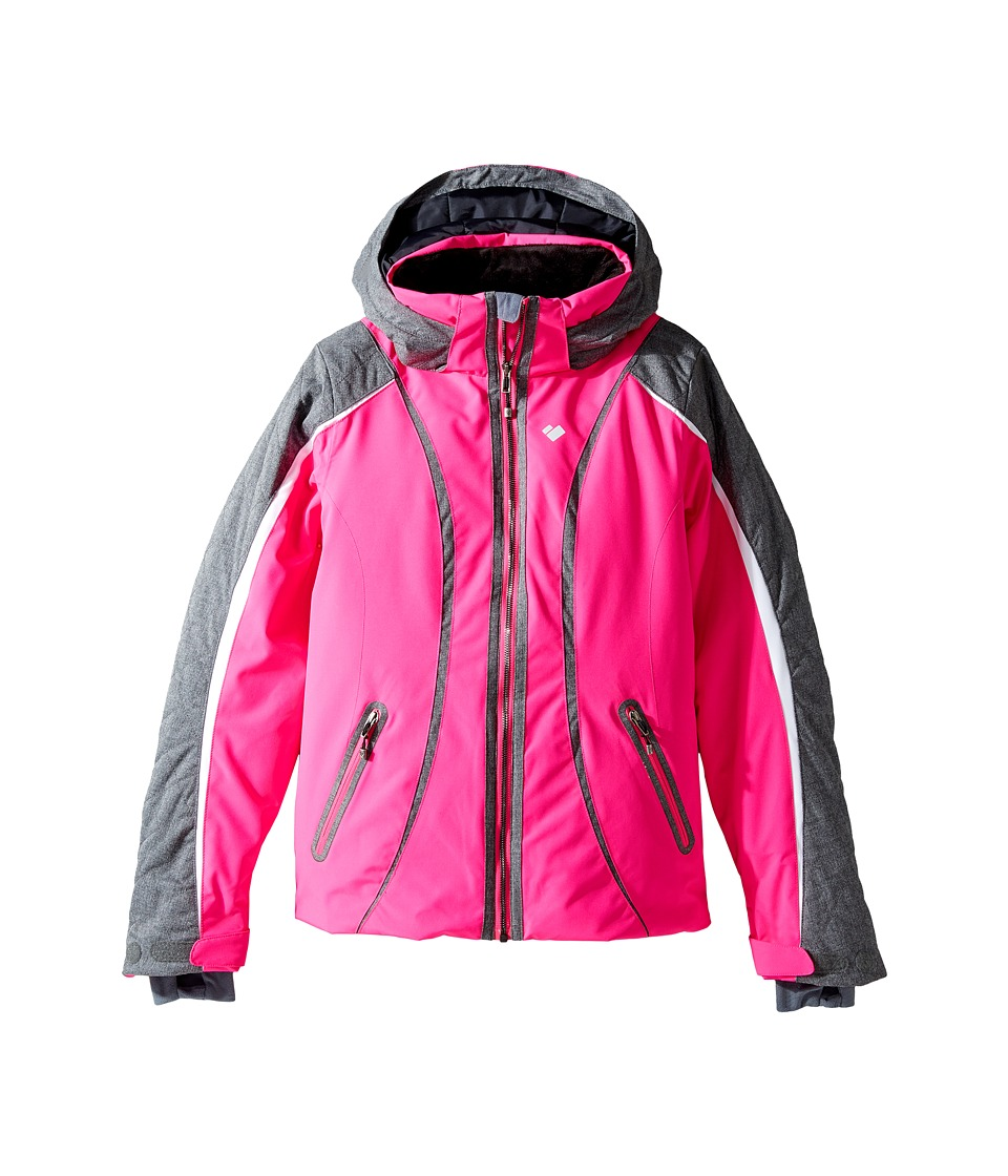 Obermeyer Kids - Dyna Jacket (Big Kids) (Electric Pink) Girl's Coat