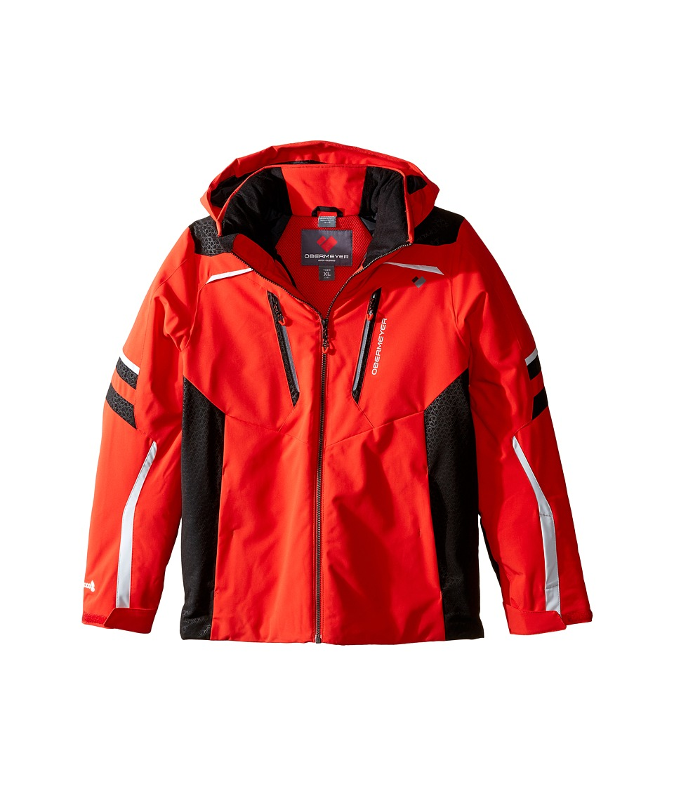 Obermeyer Kids - Ryker Jacket (Little Kids/Big Kids) (Red) Boy's Coat