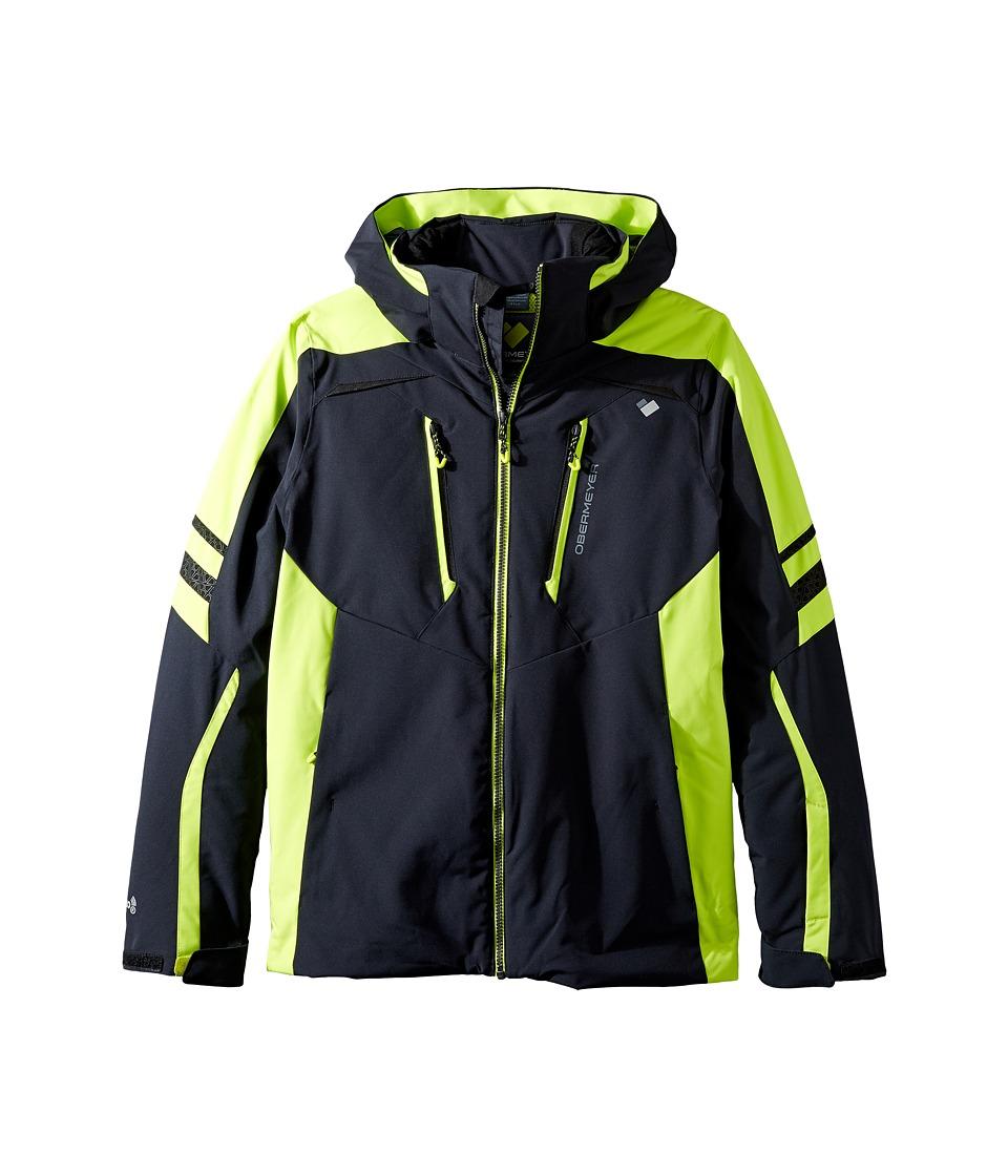 Obermeyer Kids - Ryker Jacket (Little Kids/Big Kids) (Screamin' Green) Boy's Coat