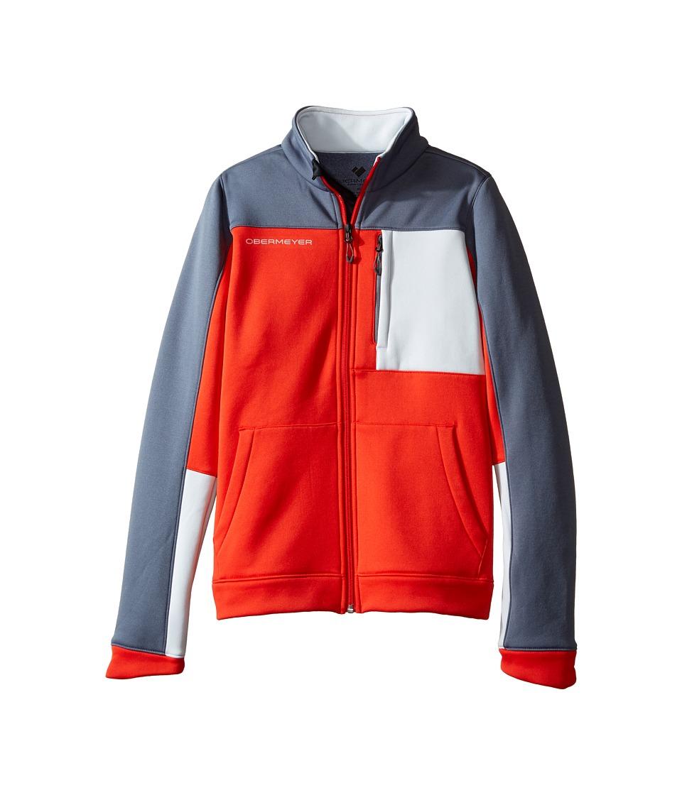 Obermeyer Kids - Rev Fleece Jacket (Big Kids) (Red) Boy's Coat