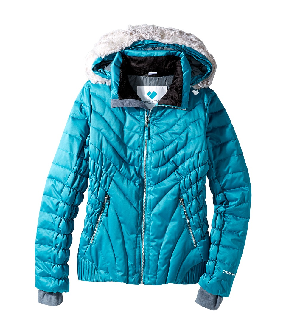 Obermeyer Kids - Aisha Jacket (Big Kids) (Rainforest) Girl's Coat
