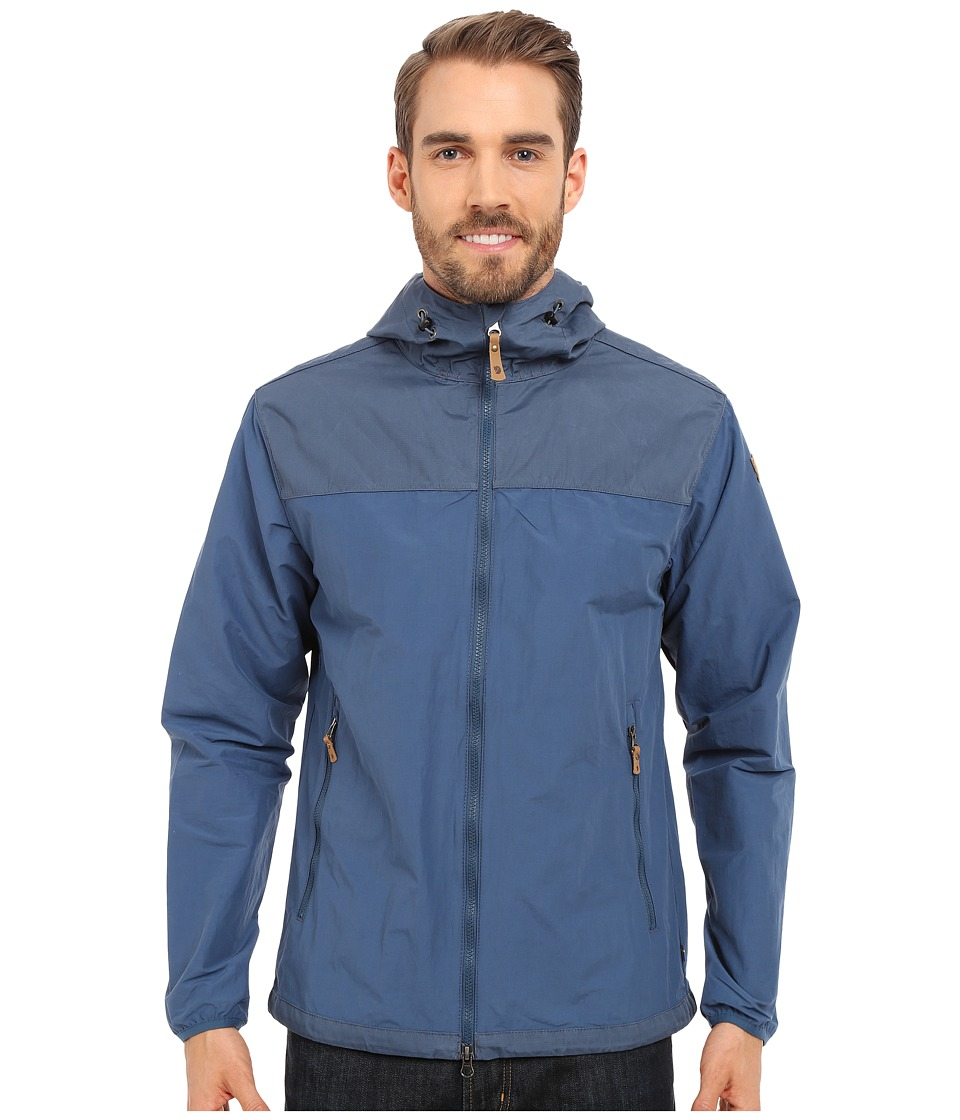 Fj llr ven - Abisko Hybrid Jacket (Uncle Blue) Men's Coat