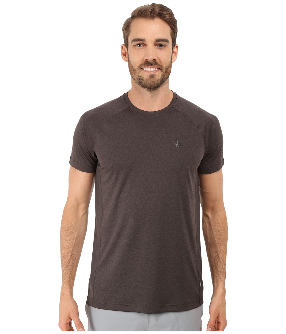 Fj llr ven - Abisko Vent T-Shirt (Dark Grey) Men's T Shirt