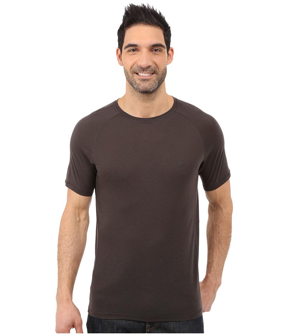 Fj llr ven - Abisko Trail T-Shirt (Dark Grey) Men's T Shirt