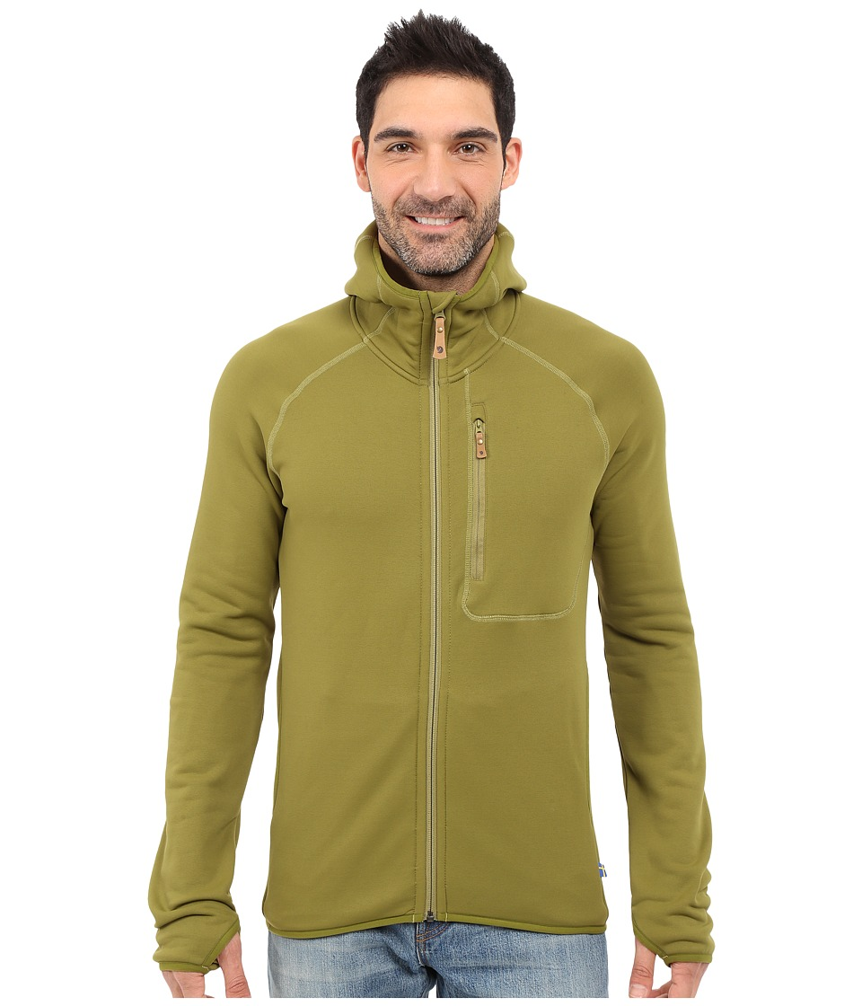 Fj llr ven - Abisko Fleece Hoodie (Avocado) Men