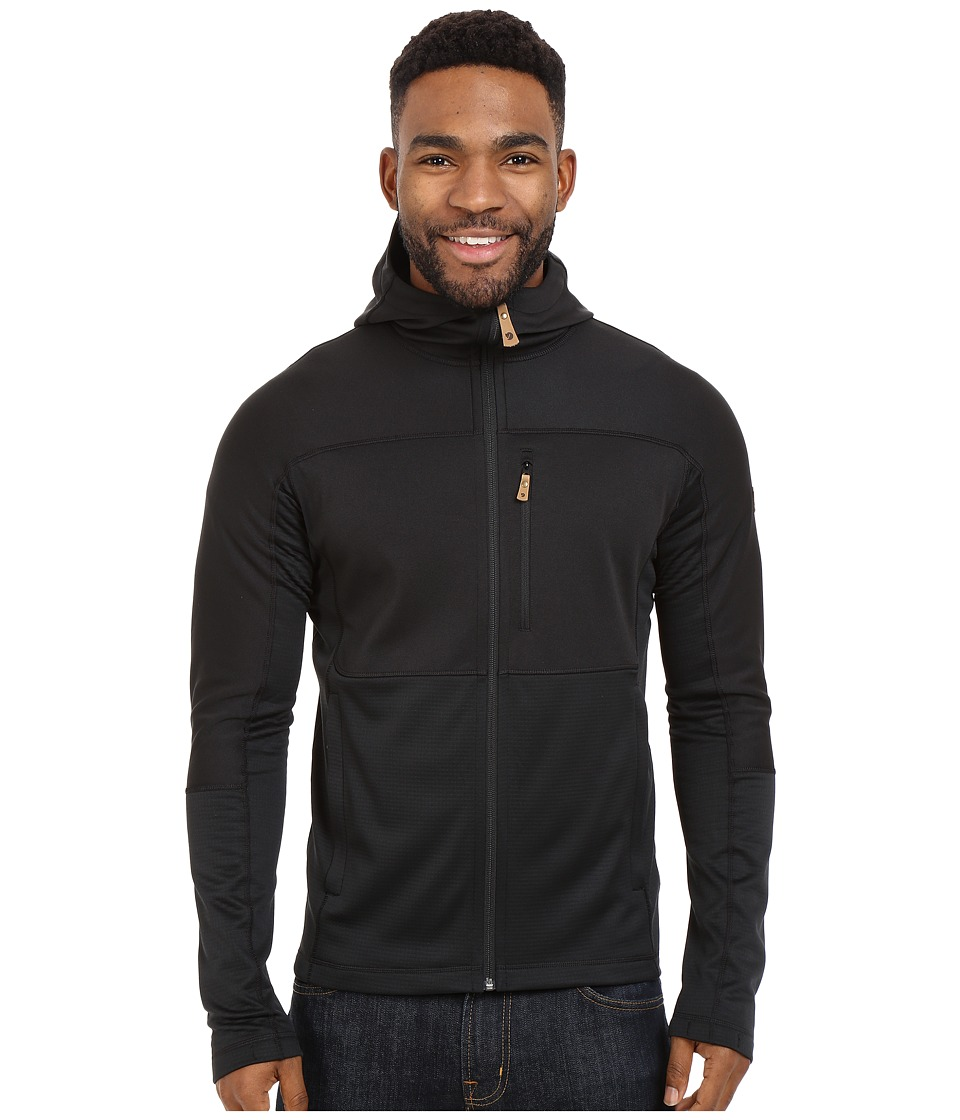 Fjallraven - Abisko Trail Fleece (Black) Men's Fleece