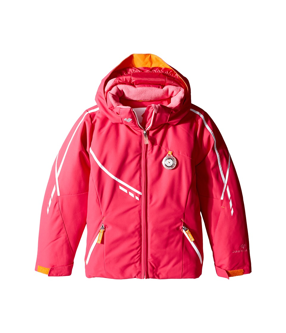 Obermeyer Kids - Leyla Jacket (Toddler/Little Kids/Big Kids) (Glamour Pink) Girl's Coat