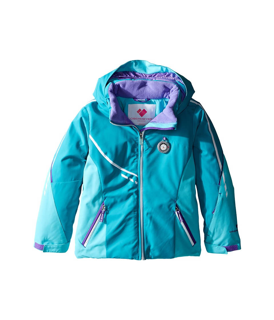 Obermeyer Kids - Leyla Jacket (Toddler/Little Kids/Big Kids) (Mermaid) Girl's Coat