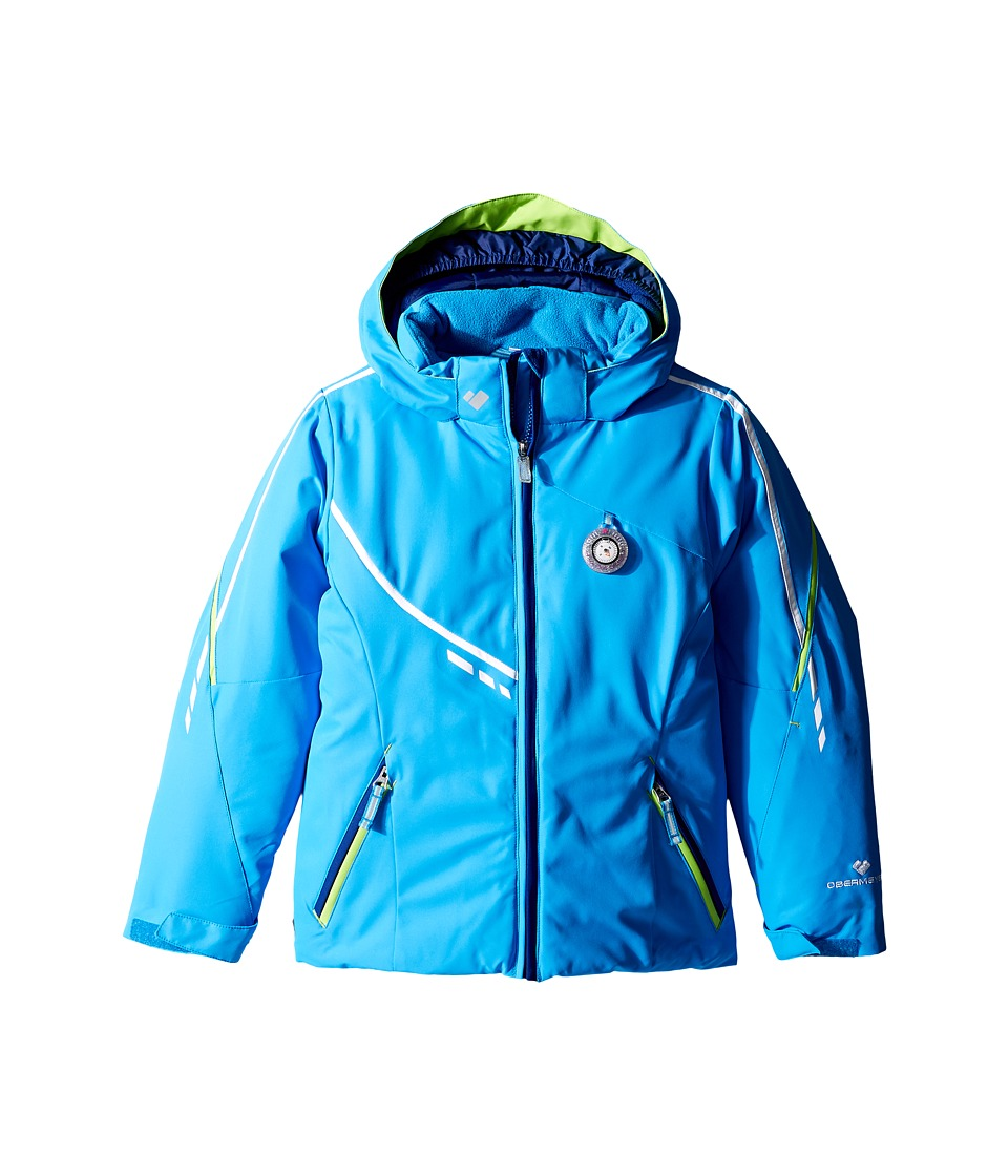 Obermeyer Kids - Leyla Jacket (Toddler/Little Kids/Big Kids) (Cornflower) Girl's Coat