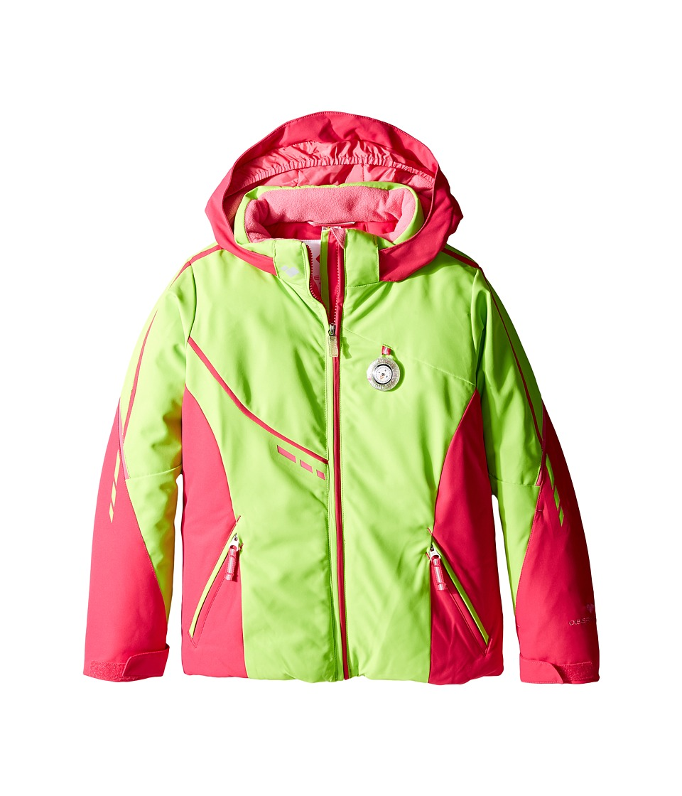 Obermeyer Kids - Leyla Jacket (Toddler/Little Kids/Big Kids) (Sarah Green) Girl's Coat
