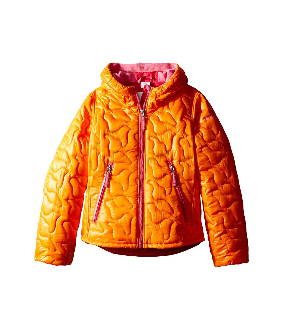 Obermeyer Kids - Comfy Jacket (Toddler/Little Kids/Big Kids) (Tangerine) Girl's Coat