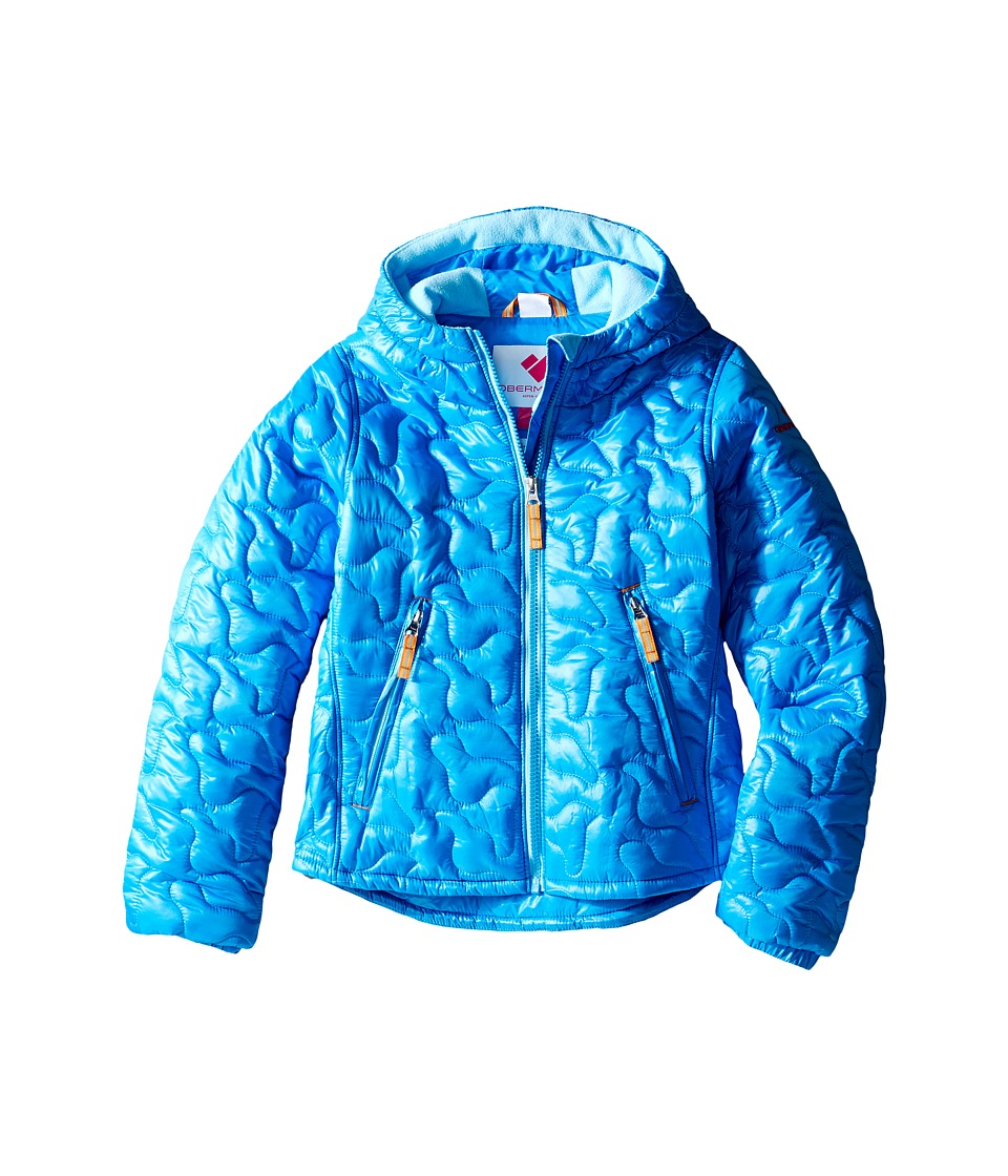 Obermeyer Kids - Comfy Jacket (Toddler/Little Kids/Big Kids) (Cornflower) Girl's Coat