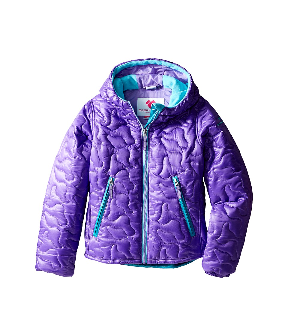 Obermeyer Kids - Comfy Jacket (Toddler/Little Kids/Big Kids) (Grapesicle) Girl's Coat