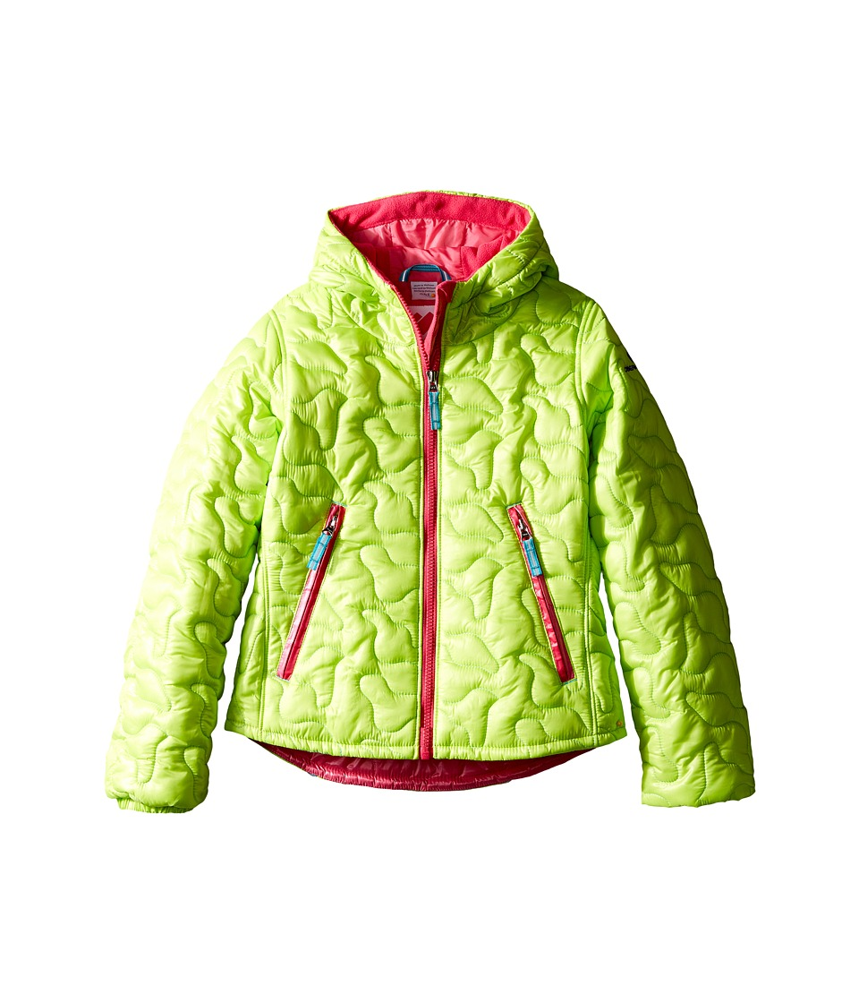 Obermeyer Kids - Comfy Jacket (Toddler/Little Kids/Big Kids) (Screamin' Green) Girl's Coat