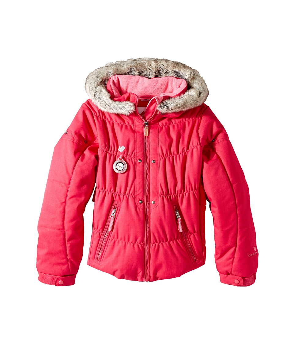 Obermeyer Kids - Juniper Jacket (Toddler/Little Kids/Big Kids) (Glamour Pink) Girl's Coat
