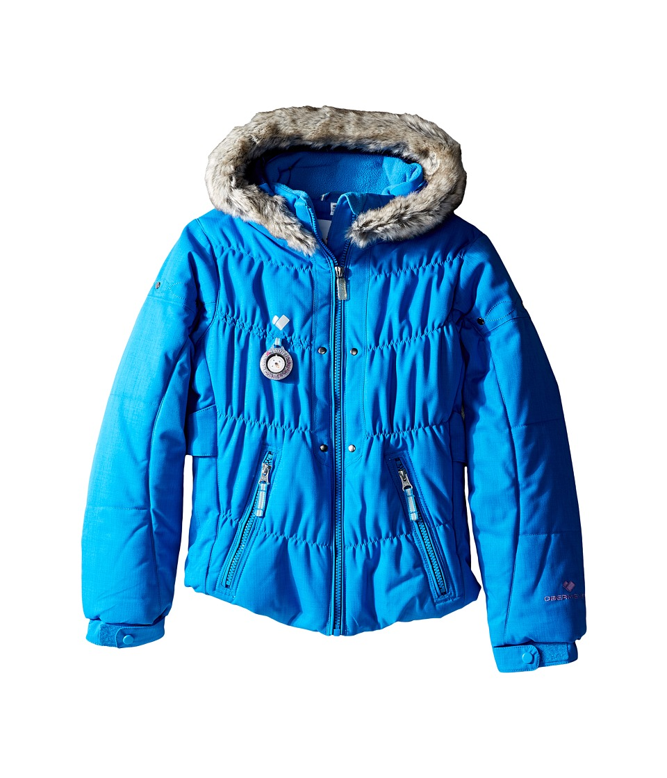 Obermeyer Kids - Juniper Jacket (Toddler/Little Kids/Big Kids) (Cornflower) Girl's Coat