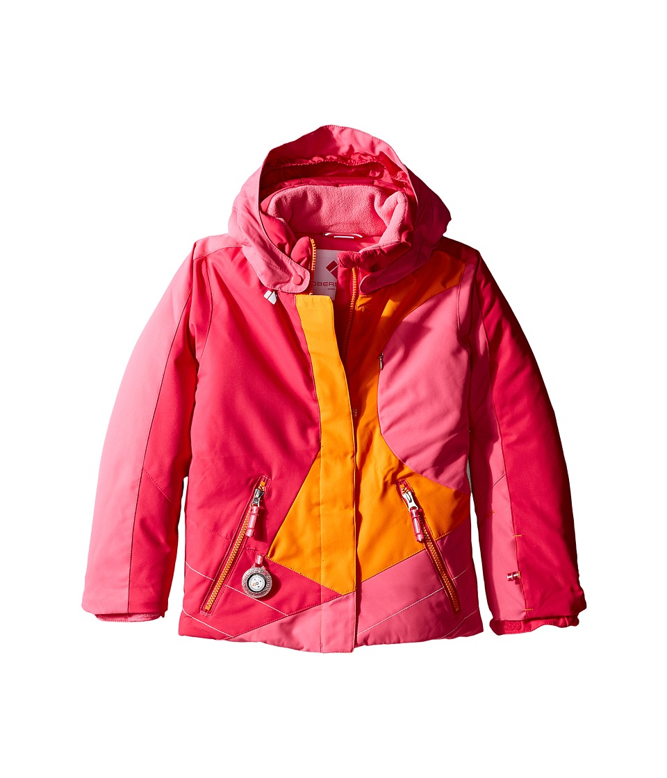 Obermeyer Kids - Trina Jacket (Toddler/Little Kids/Big Kids) (Tangerine) Girl's Coat