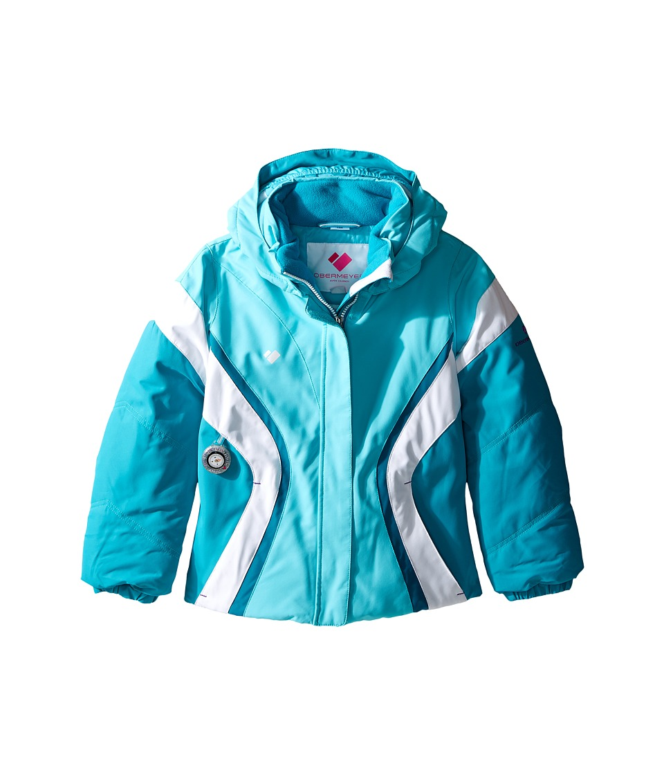 Obermeyer Kids - Aria Jacket (Toddler/Little Kids/Big Kids) (Blue Reef) Girl's Coat