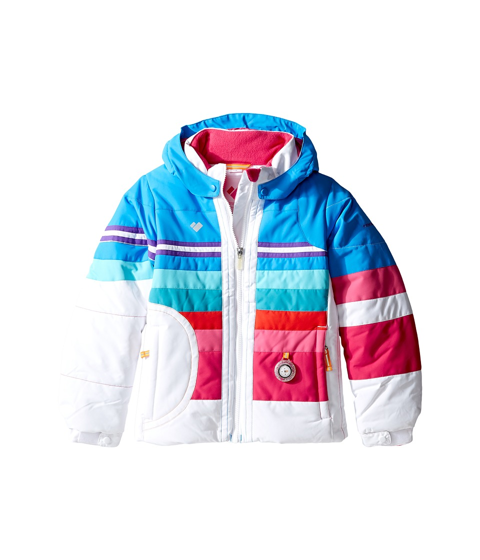 Obermeyer Kids - Snowdrop Jacket (Toddler/Little Kids/Big Kids) (White) Girl's Coat