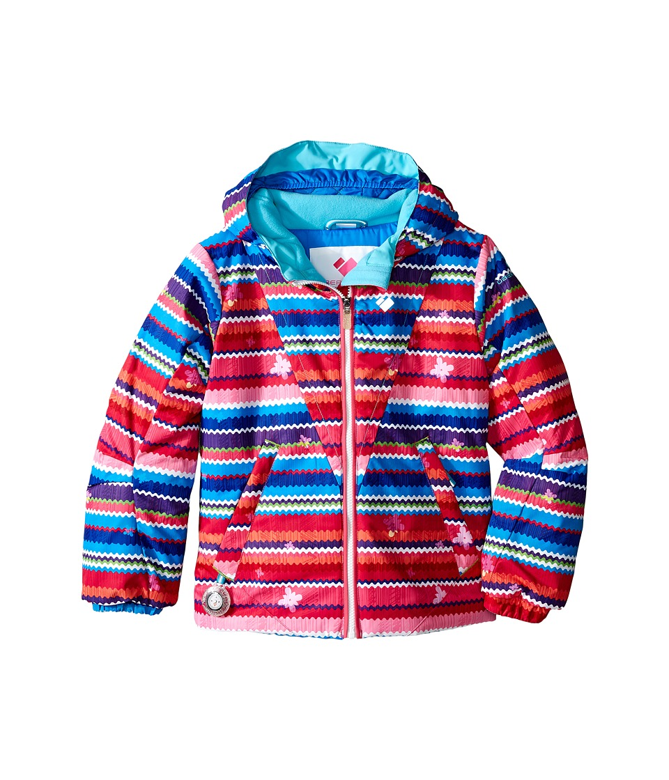 Obermeyer Kids - Ashlyn Jacket (Toddler/Little Kids/Big Kids) (Scribble Stripe) Girl's Coat