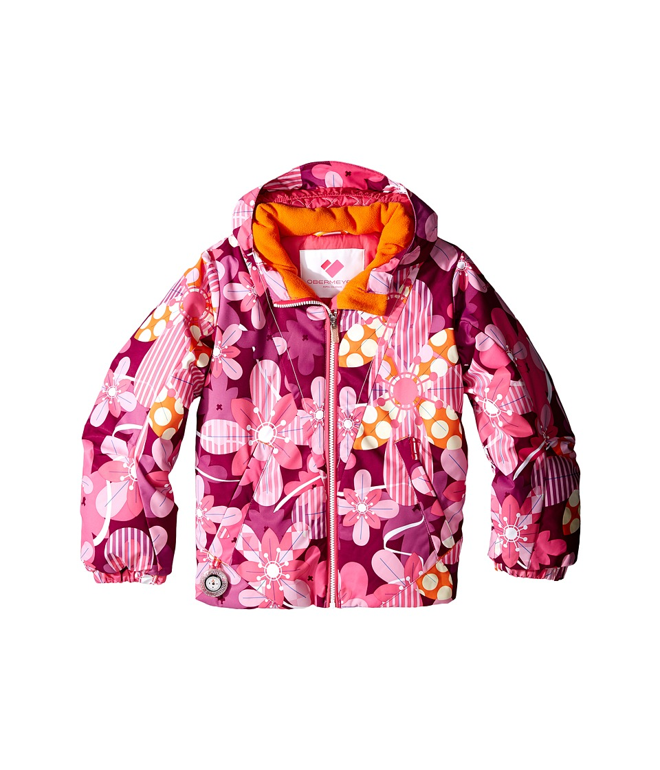 Obermeyer Kids - Ashlyn Jacket (Toddler/Little Kids/Big Kids) (Pinwheel) Girl's Coat
