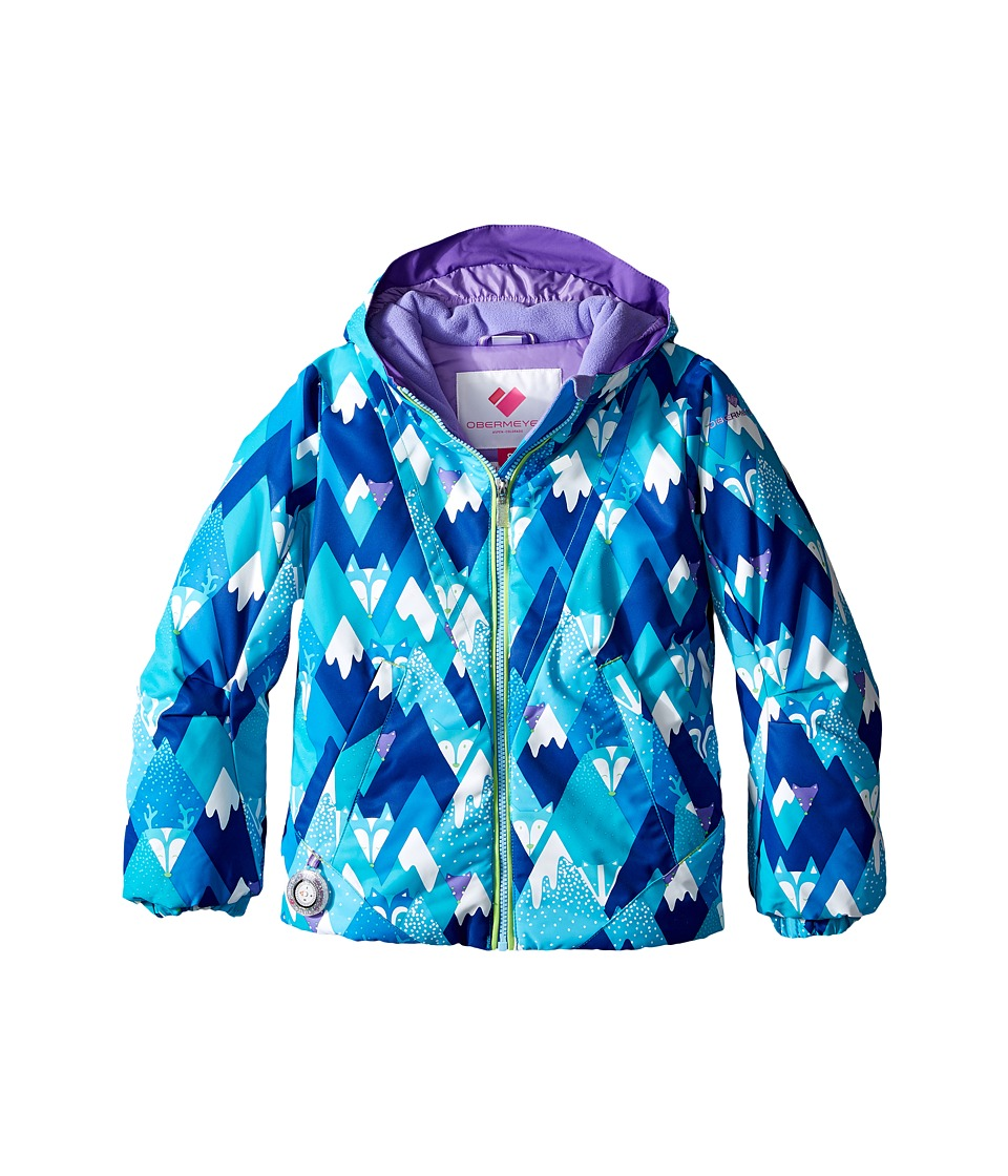 Obermeyer Kids - Ashlyn Jacket (Toddler/Little Kids/Big Kids) (Blue Mountains) Girl's Coat