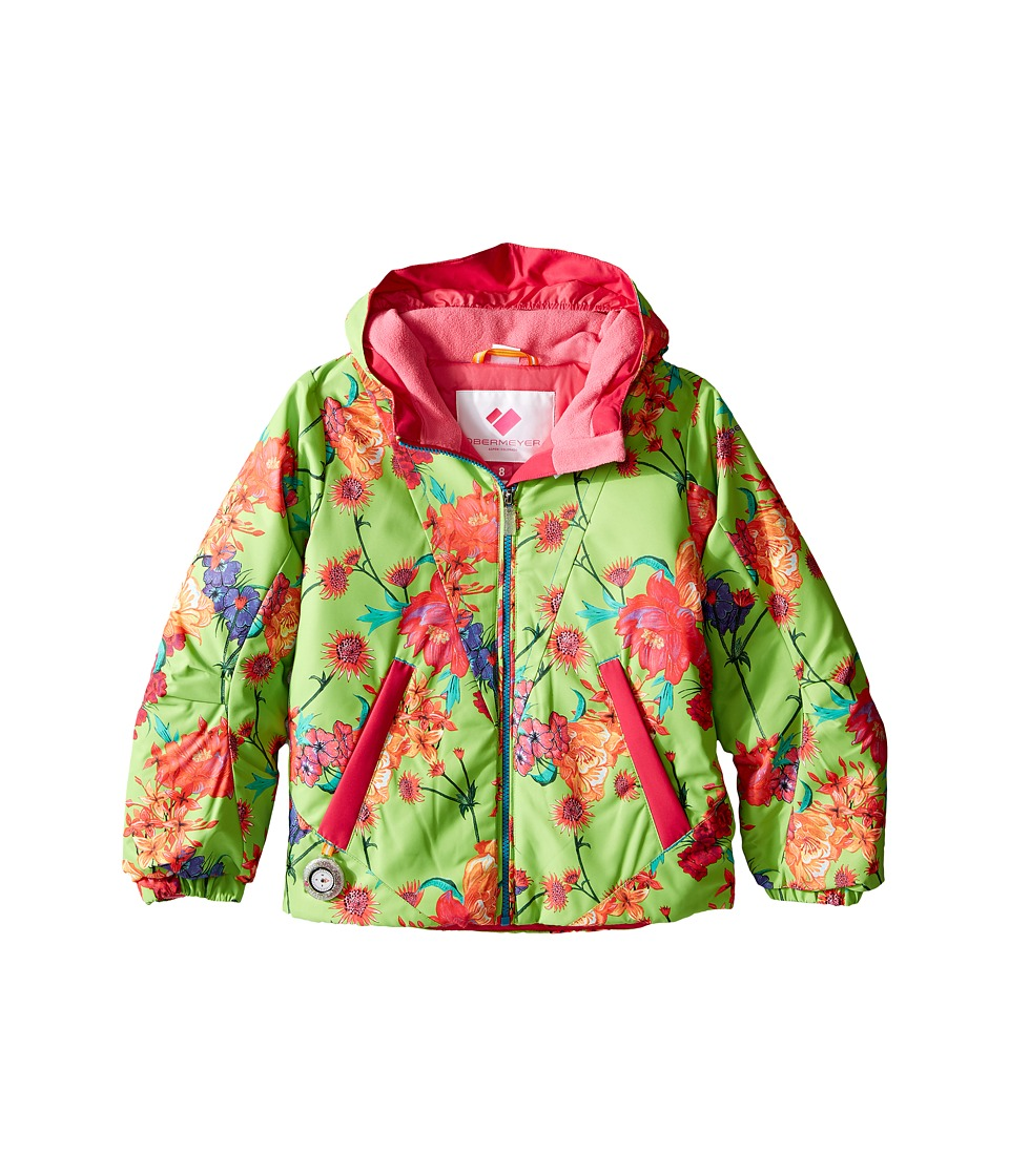 Obermeyer Kids - Ashlyn Jacket (Toddler/Little Kids/Big Kids) (Flower Burst) Girl's Coat