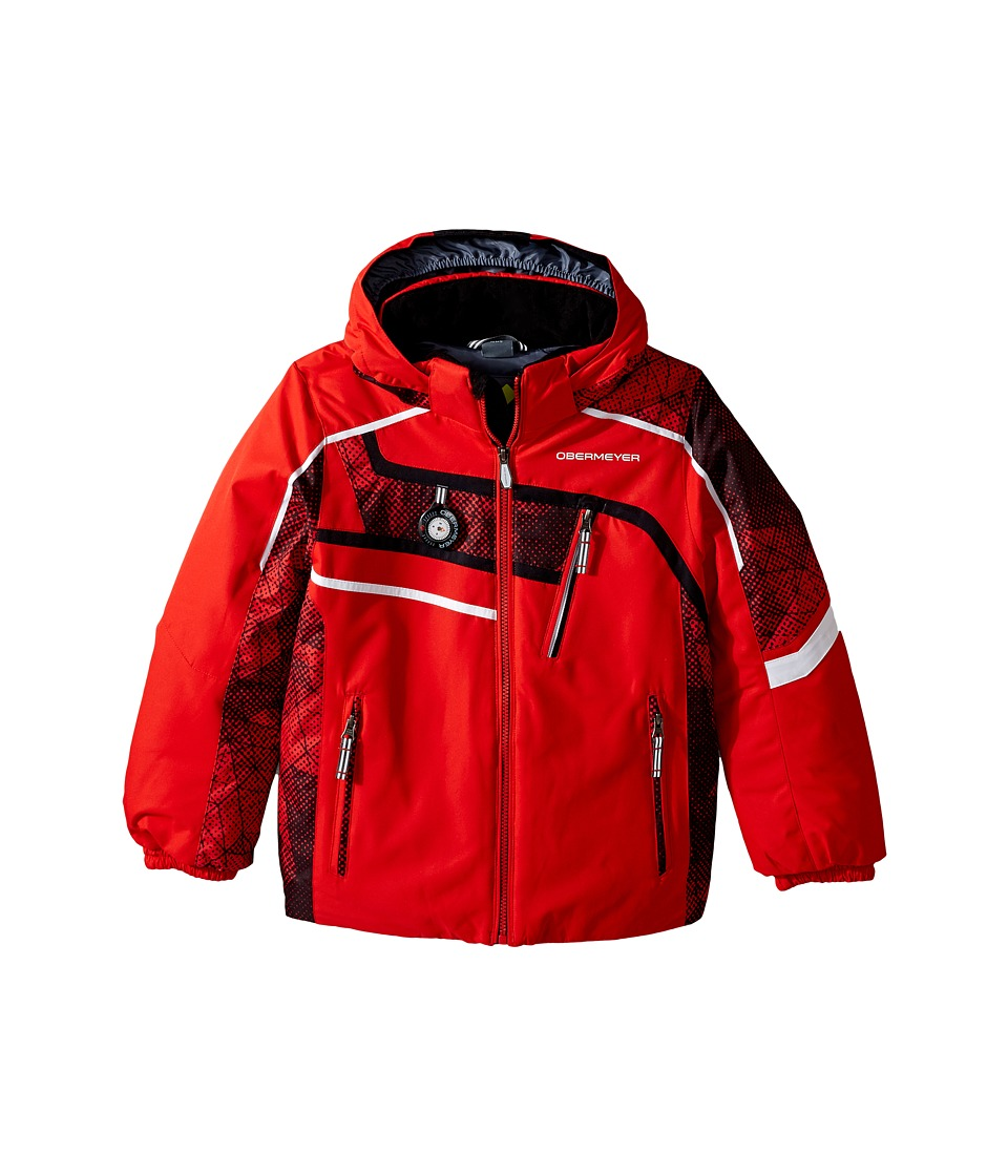 Obermeyer Kids - Tomcat Jacket (Toddler/Little Kids/Big Kids) (Red) Boy's Coat