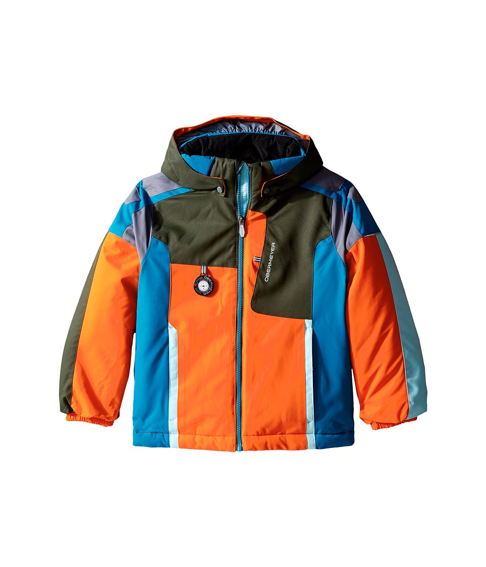 Obermeyer Kids - Blaster Jacket (Toddler/Little Kids/Big Kids) (Tangerine) Boy's Coat
