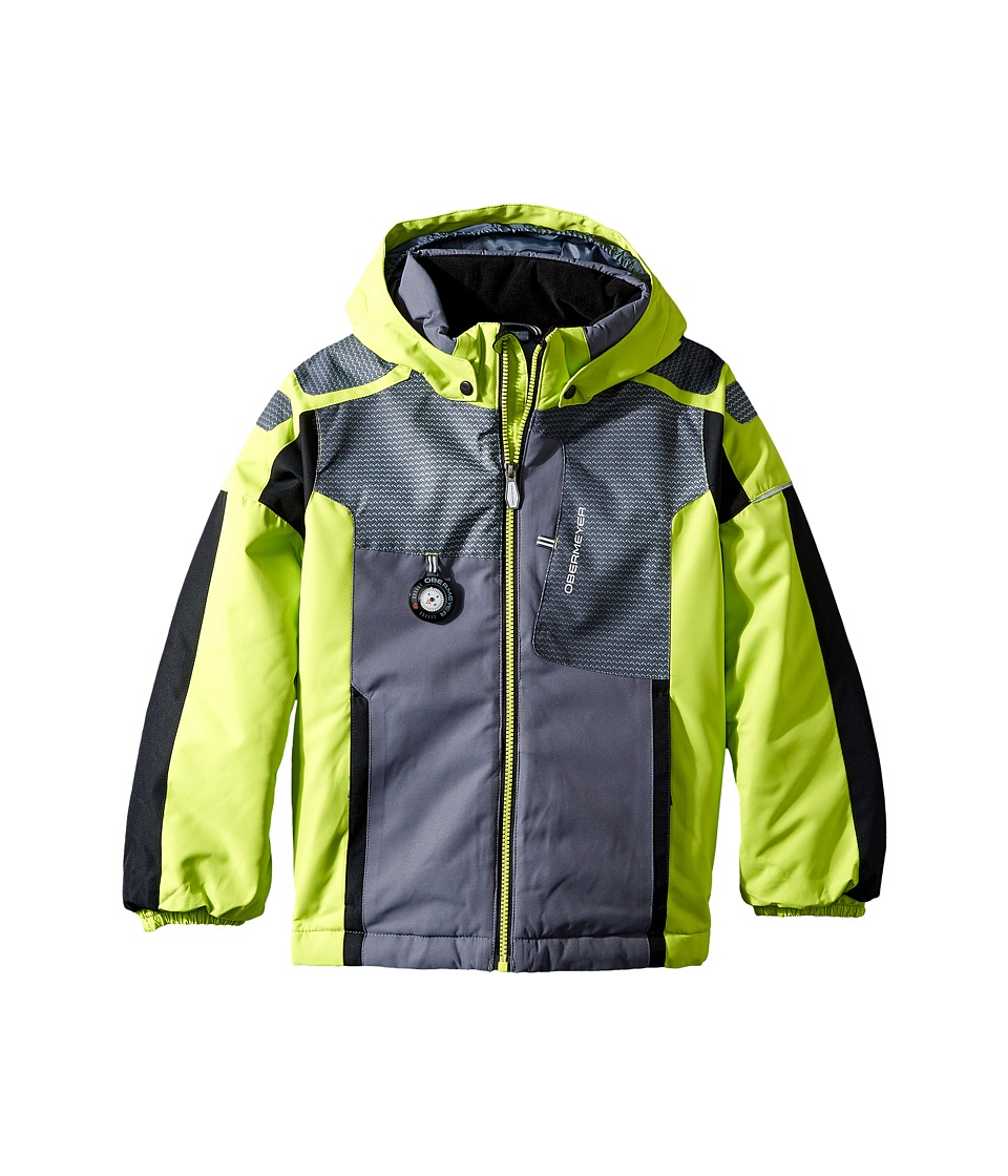 Obermeyer Kids - Blaster Jacket (Toddler/Little Kids/Big Kids) (Screamin' Green) Boy's Coat