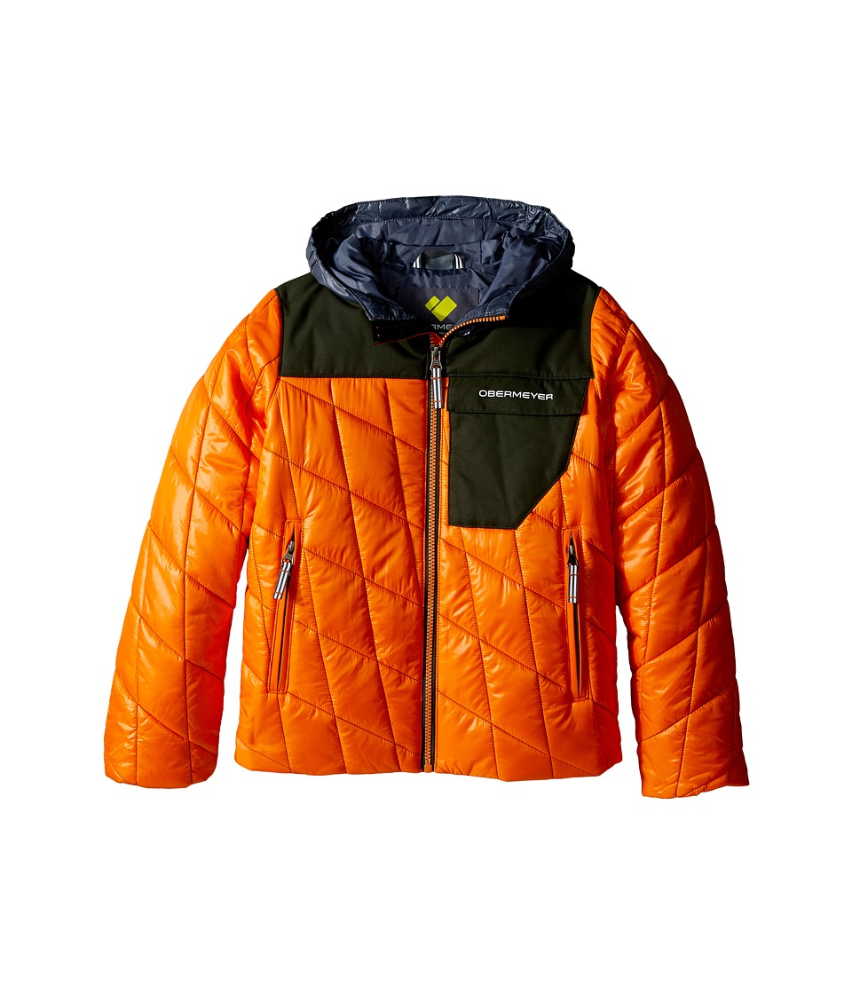 Obermeyer Kids - Catapult Jacket (Toddler/Little Kids/Big Kids) (Tangerine) Boy's Coat