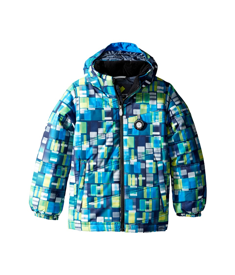 Obermeyer Kids - Stealth Jacket (Toddler/Little Kids/Big Kids) (Moving Squares) Boy's Coat