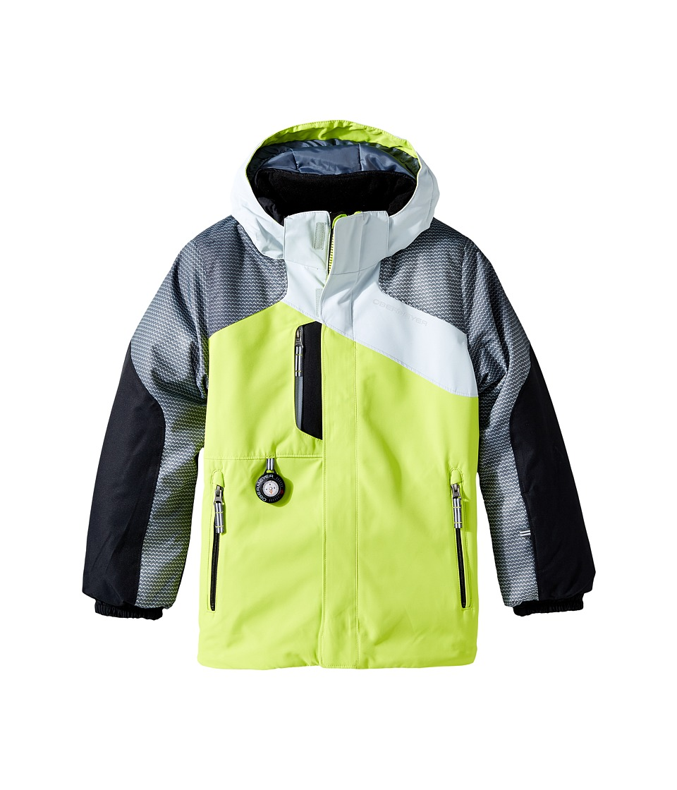 Obermeyer Kids - Havoc Jacket (Toddler/Little Kids/Big Kids) (Screamin' Green) Boy's Coat