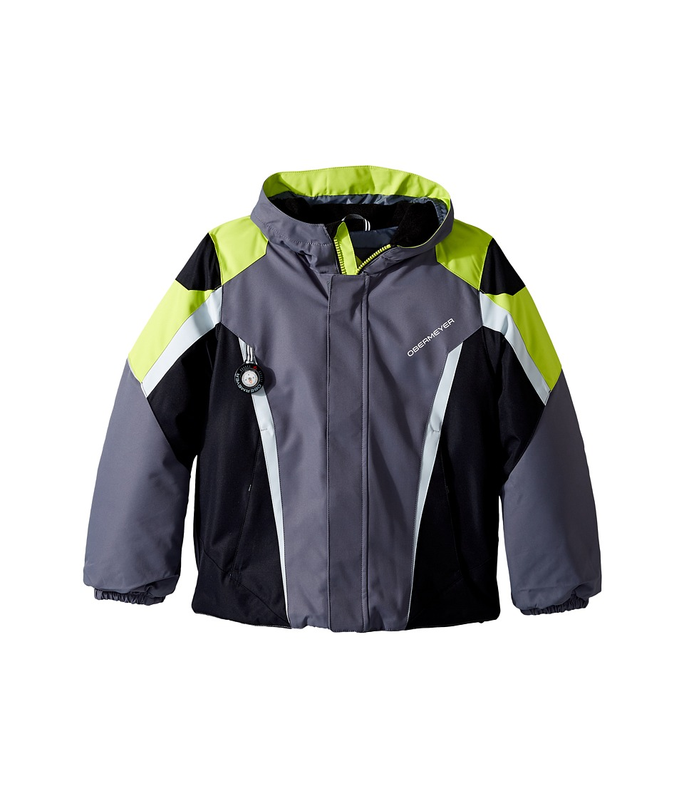Obermeyer Kids - Raptor Jacket (Toddler/Little Kids/Big Kids) (Graphite) Boy's Coat