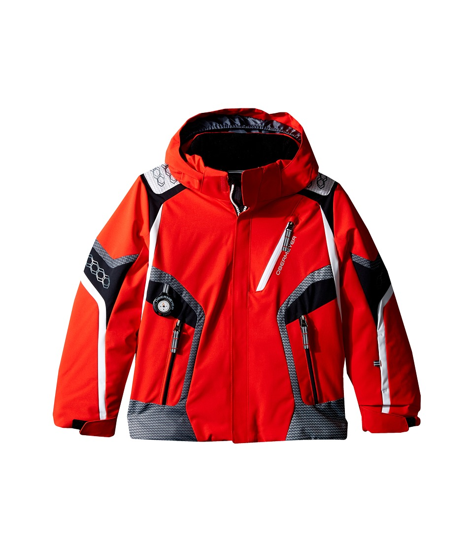 Obermeyer Kids - Cobra Jacket (Toddler/Little Kids/Big Kids) (Red) Boy's Coat