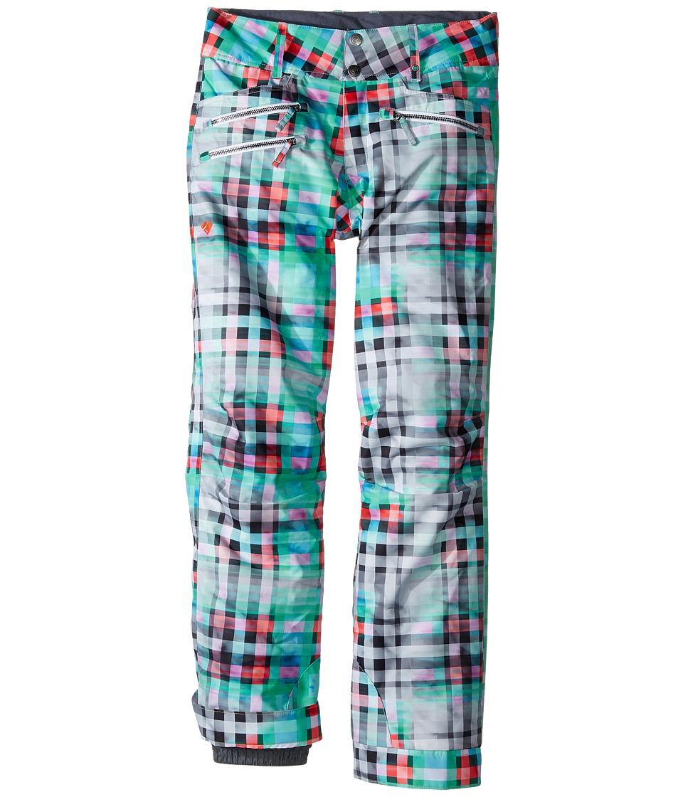 Obermeyer Kids - Jessi Pants (Little Kids/Big Kids) (Plaid Haze) Girl's Casual Pants