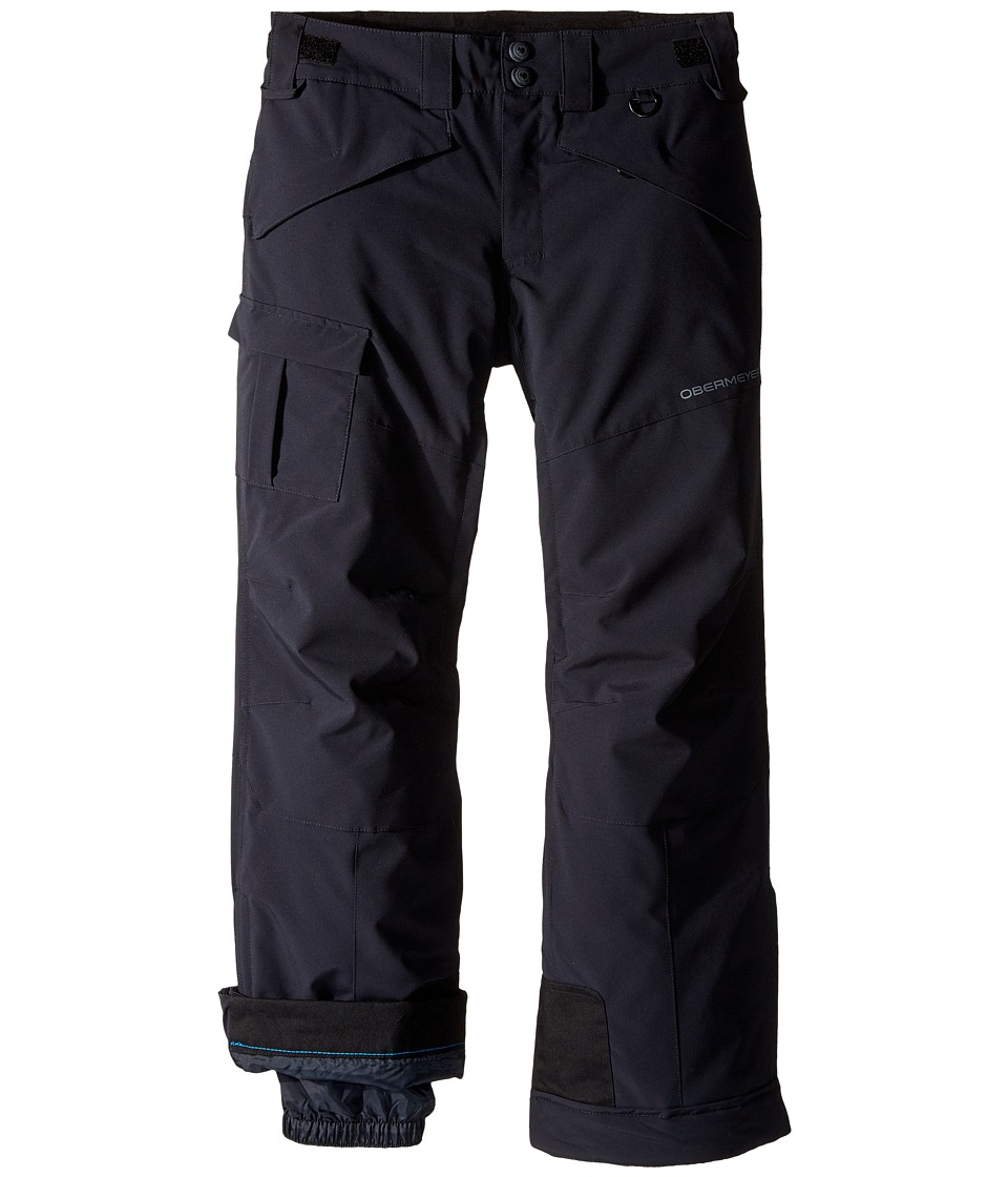 Obermeyer Kids - Porter Pants (Little Kids/Big Kids) (Black) Boy's Casual Pants