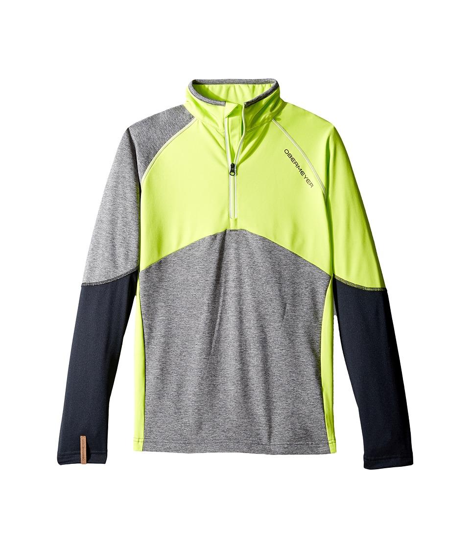 Obermeyer Kids - Transport Tech Base Layer (Big Kids) (Screamin' Green) Boy's Clothing