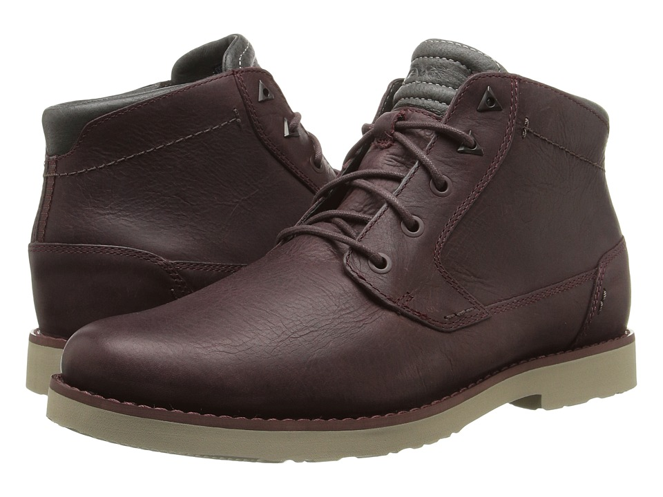 Teva Durban Leather (Mahogany) Men