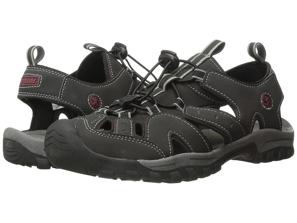 Northside - Burke II (Black/Red) Men's Shoes