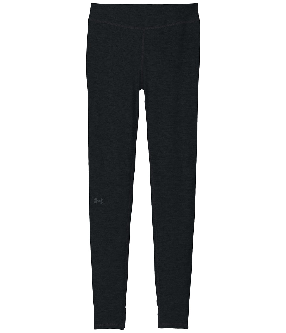 Under Armour Kids - Finale Stirrup Leggings (Big Kids) (Black/Carbon Heather/Stealth Gray) Girl's Casual Pants