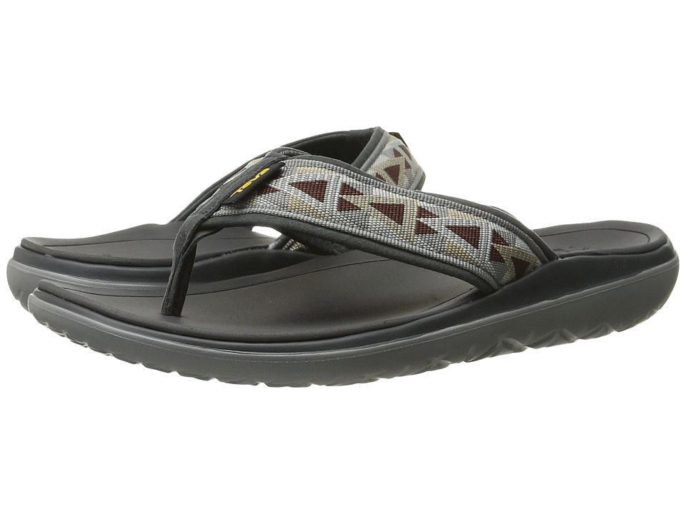 Teva - Terra-Float Flip (Mosaic Grey/Chocolate) Men's Sandals
